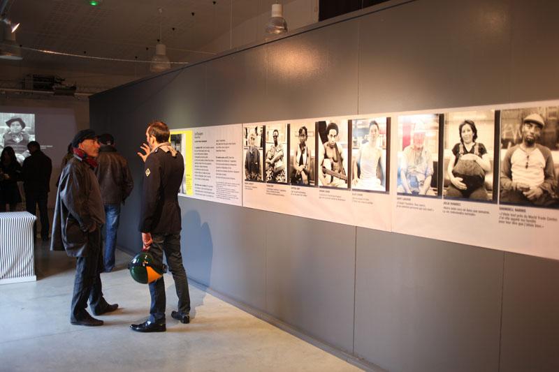 21.10.2011 Paimpol. Wystawa fotografii Tomasza Kiznego w rocznic´ zamachów 11 wrzeÊnia w USA.Fot. Piotr Wójcik
